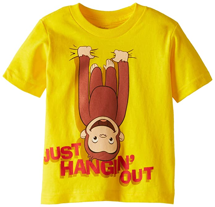 Curious George Boys Short Sleeve T-Shirt