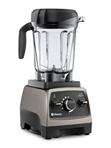 Vitamix, Pearl Grey, Series 750 Blender, Professional-Grade, 64 oz. Low-Profile Container