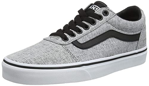 on wholesale pretty cheap exclusive shoes Amazon.com | Vans Men's Ward Low Top, Sneakers, Grey/White ...
