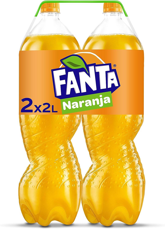 Fanta Naranja Botella - 2 l (Pack de 2): Amazon.es ...