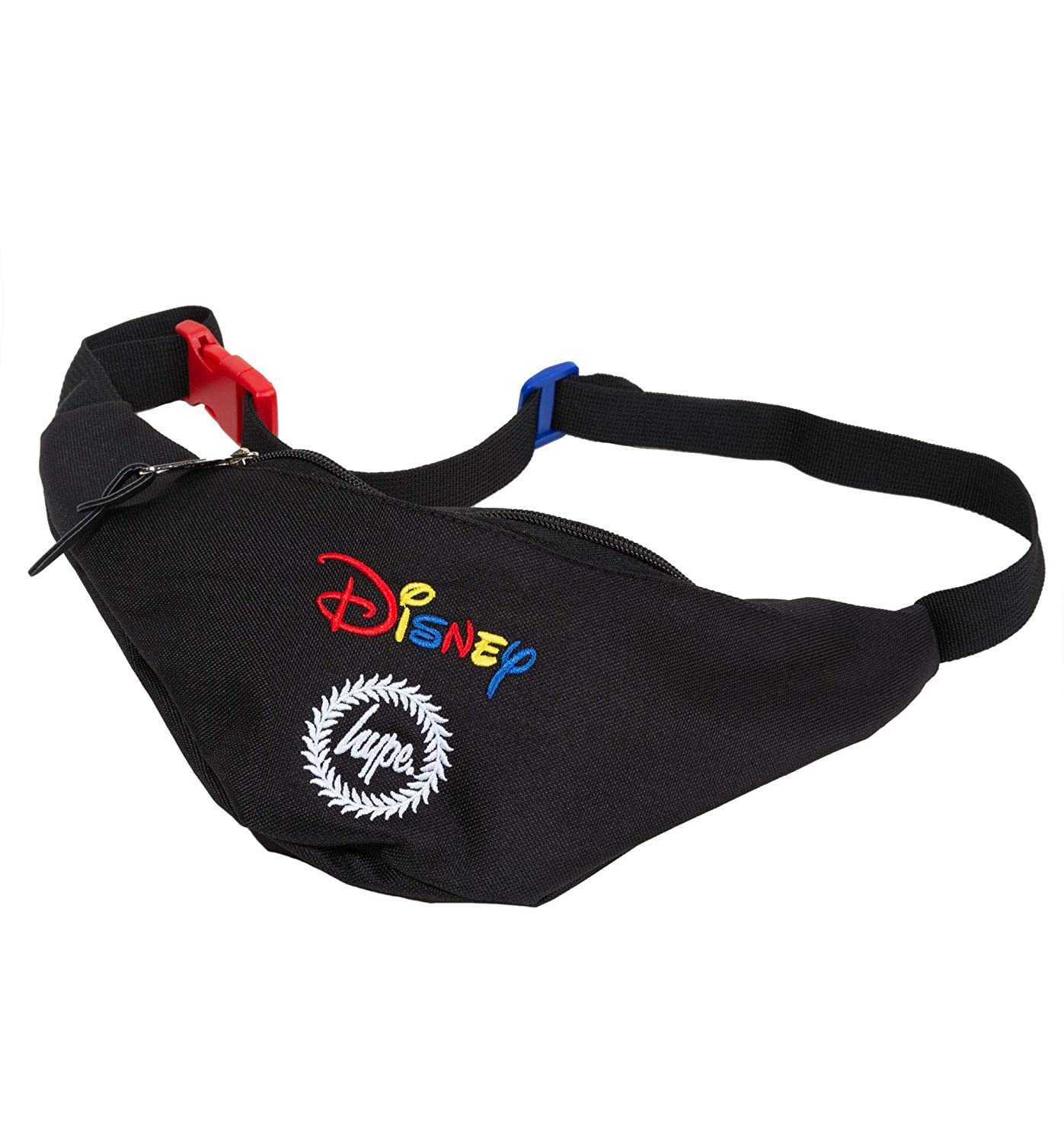 74180dbb5c6 Black Disney Embroidered Logo Bum Bag from Hype  Amazon.co.uk  Luggage