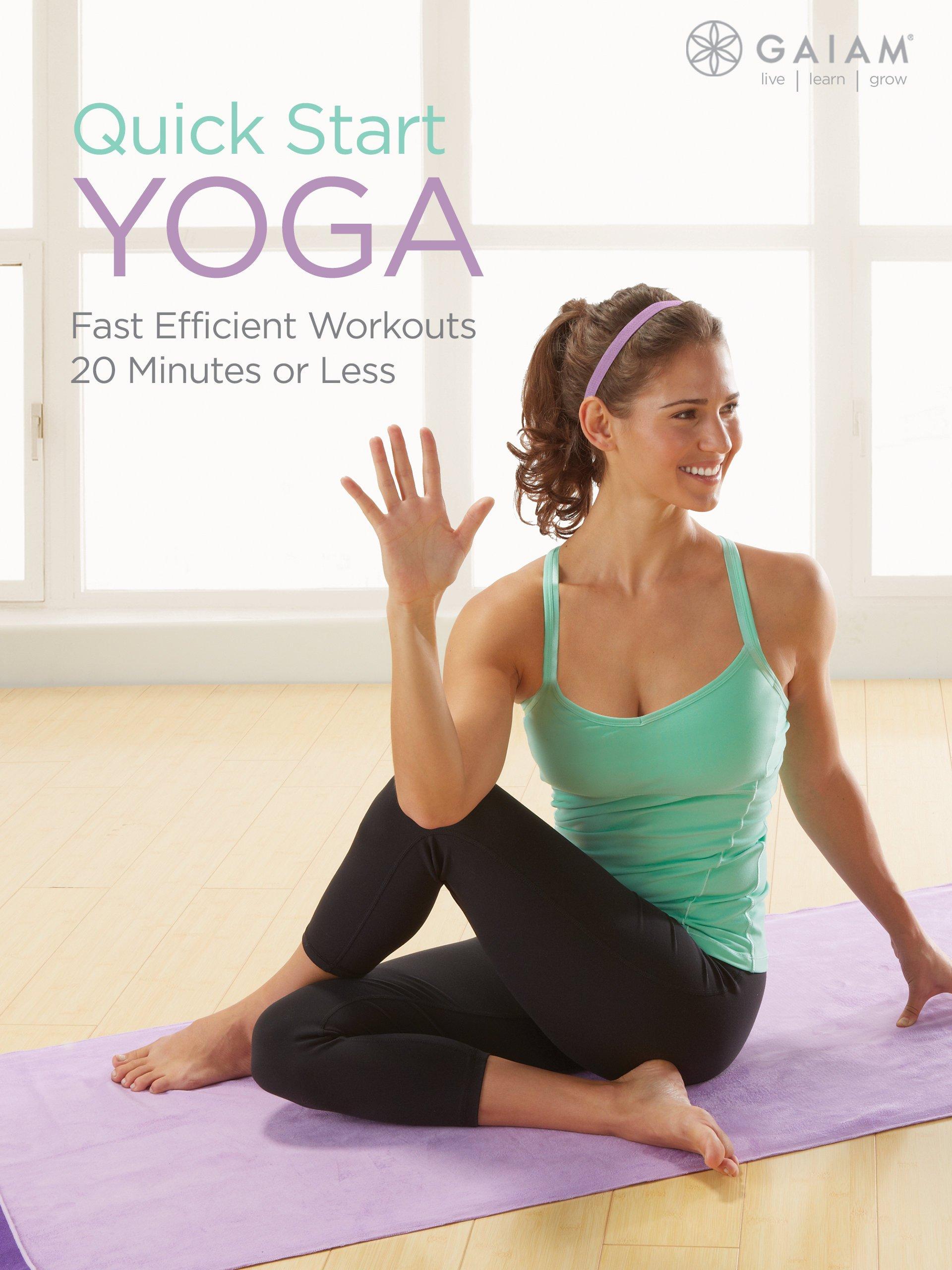 Watch Gaiam: Quickstart Yoga | Prime Video