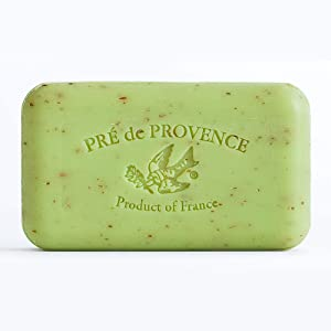 Pre de Provence Artisanal French Soap Bar Enriched with Shea Butter, Lime Zest, 150 Gram