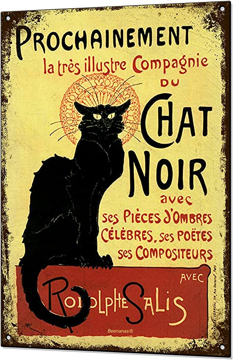 A Home Without A Cat is Just A House Decorative Signs Metal Iron Tin Sign Vintage Pet Cat Decoration Art Bar Home Decor Gifts Size 8X12inches