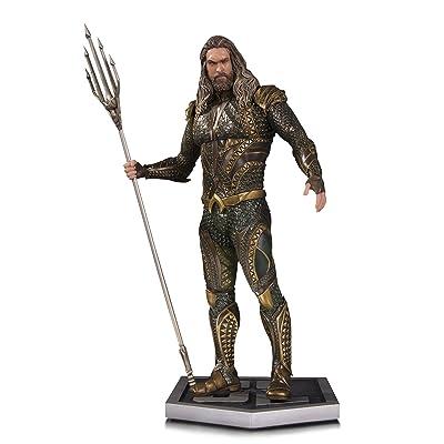 DC Collectibles Justice League Movie Aquaman Statue: Toys & Games