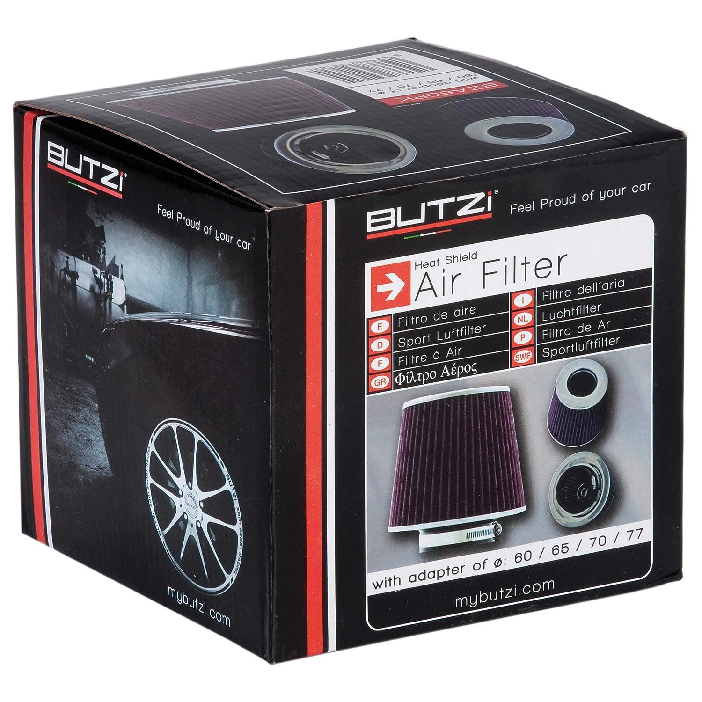 Sumex Bza60Pk - Filtro Aire Universal con Adaptador, Rosa: Amazon.es: Coche y moto