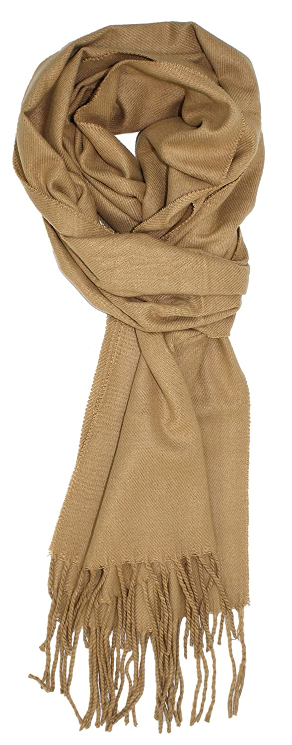 Ted and Jack - A Classic Staple Solid Cashmere Feel Scarf W100299BL