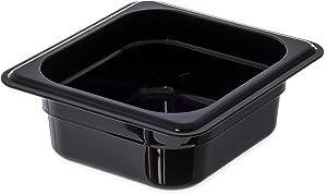 Carlisle 3068303 StorPlus Sixth Size Food Pan, Polycarbonate, 2.5