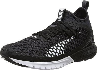 PUMA Ignite Dual Netfit, Zapatillas de Entrenamiento para Mujer, Negro (Schwarz/Dunkelblau Schwarz/Dunkelblau), 39 EU: Amazon.es: Zapatos y complementos