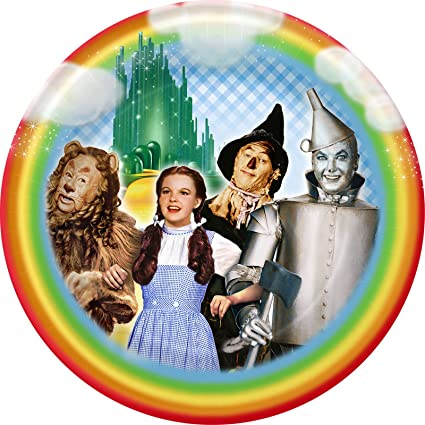 Wizard of Oz Large Paper Plates (8ct)  sc 1 st  Amazon.com & Amazon.com: Wizard of Oz Large Paper Plates (8ct): Toys u0026 Games