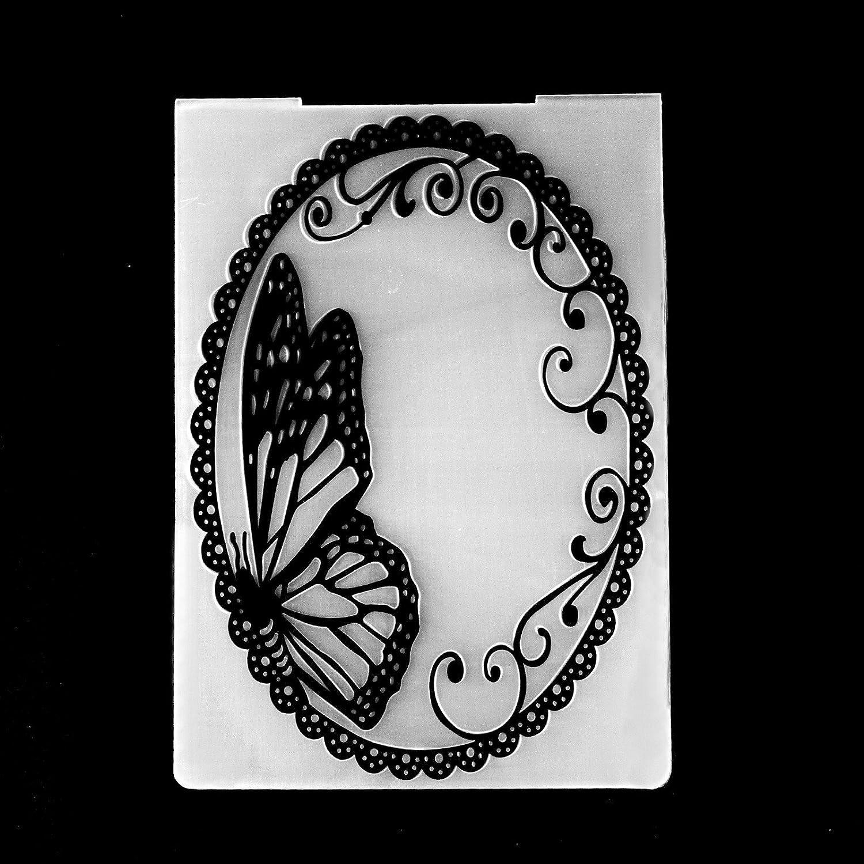 2017 New Arrival Scrapbook Mirror Design DIY Paper Cutting Dies Scrapbooking Plastic Embossing Folder