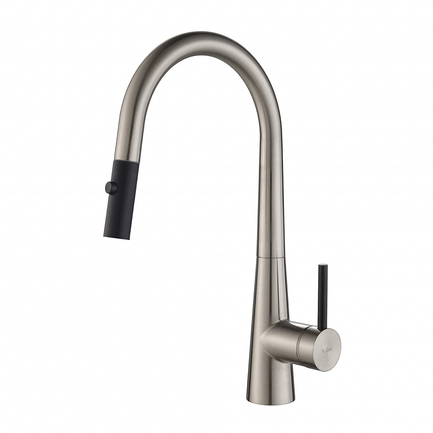 mounted spray fresh curitiba the size sink down of finish pull with stainless sprayer and full sinks faucets choosing beautiful right faucet deck gold steel kitchen