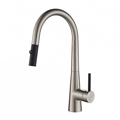Kraus KPF-2720SS Modern Crespo Single Lever Pull Down Kitchen Faucet