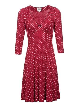 Kleid Lucky Polka Dress Punkte Maria Dot Damen Vive Girl ymnON0v8w