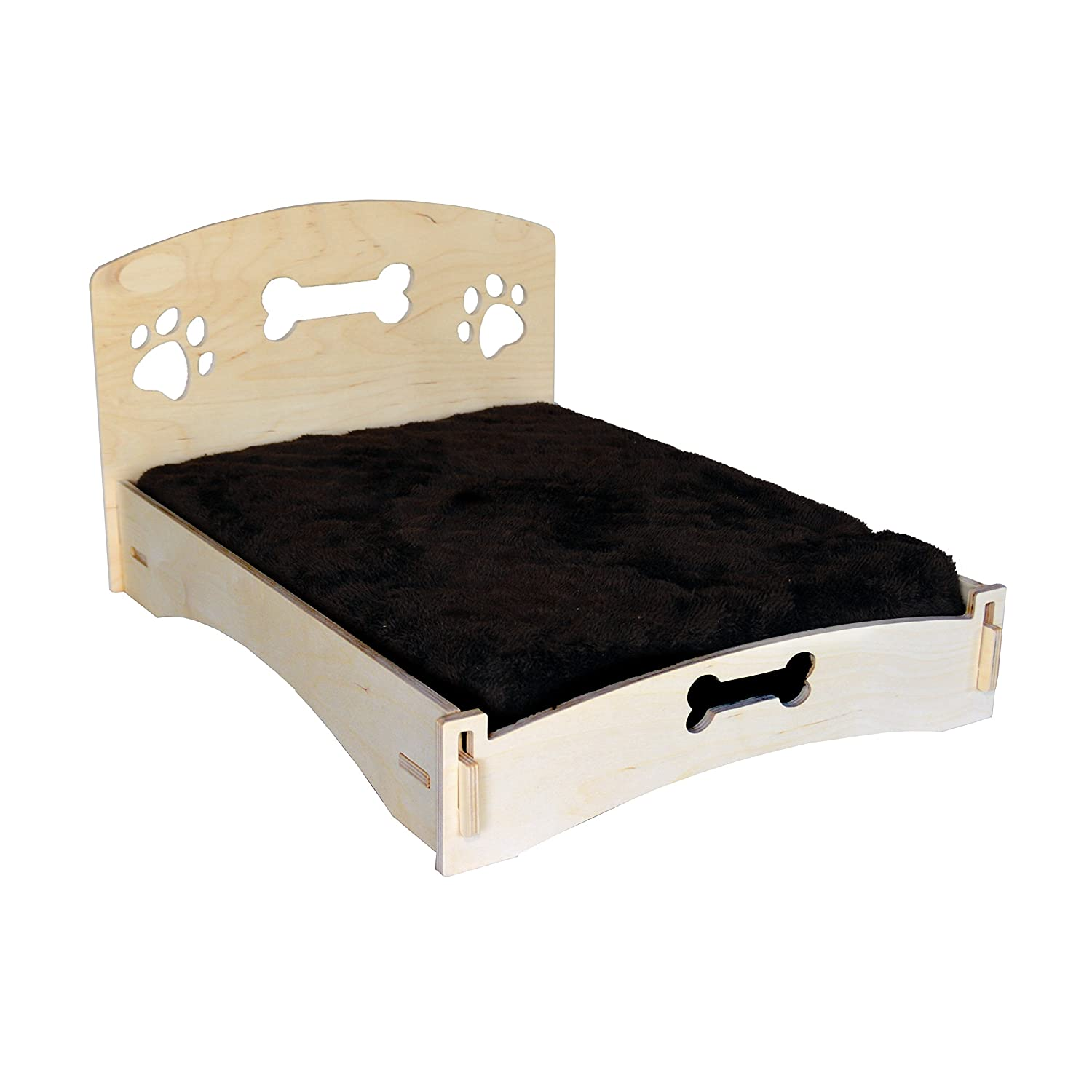 MPI WOOD Medium Dog Bed