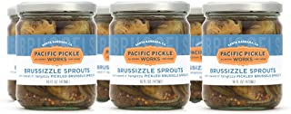 product image for Brussizzle Sprouts (6-pack) - Semi-sweet pickled Brussels sprouts wedges 16oz