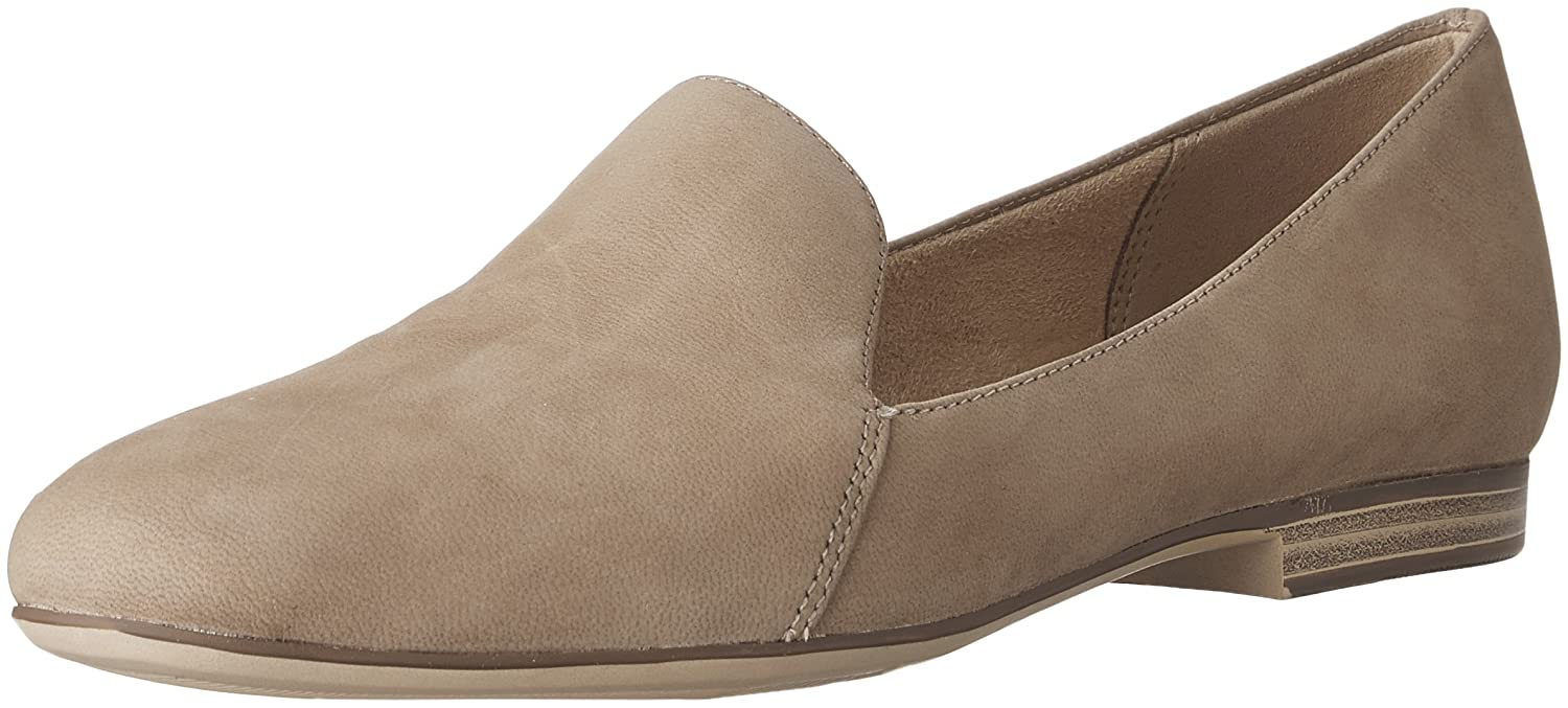 Naturalizer Women's Emiline Slip-on Loafer B01NH0H4LS 7.5 C/D US|Oatmeal Nubuck