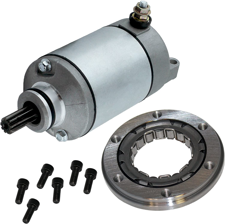 Caltric CLUTCH SPRAG ONE WAY BEARING /& GASKET FOR SUZUKI QUADSPORT 400 LTZ400 LT-Z400 2003-2009
