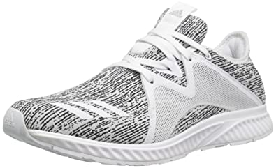 online retailer 4dc33 f9f3f adidas Womens Edge lux 2 Running Shoe WhiteMetallic Silver, 5 Medium US