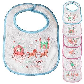 3eac60133 Cotton Baby Bibs Bundle Set For Boys Girls Toddlers Newborn Babies ...