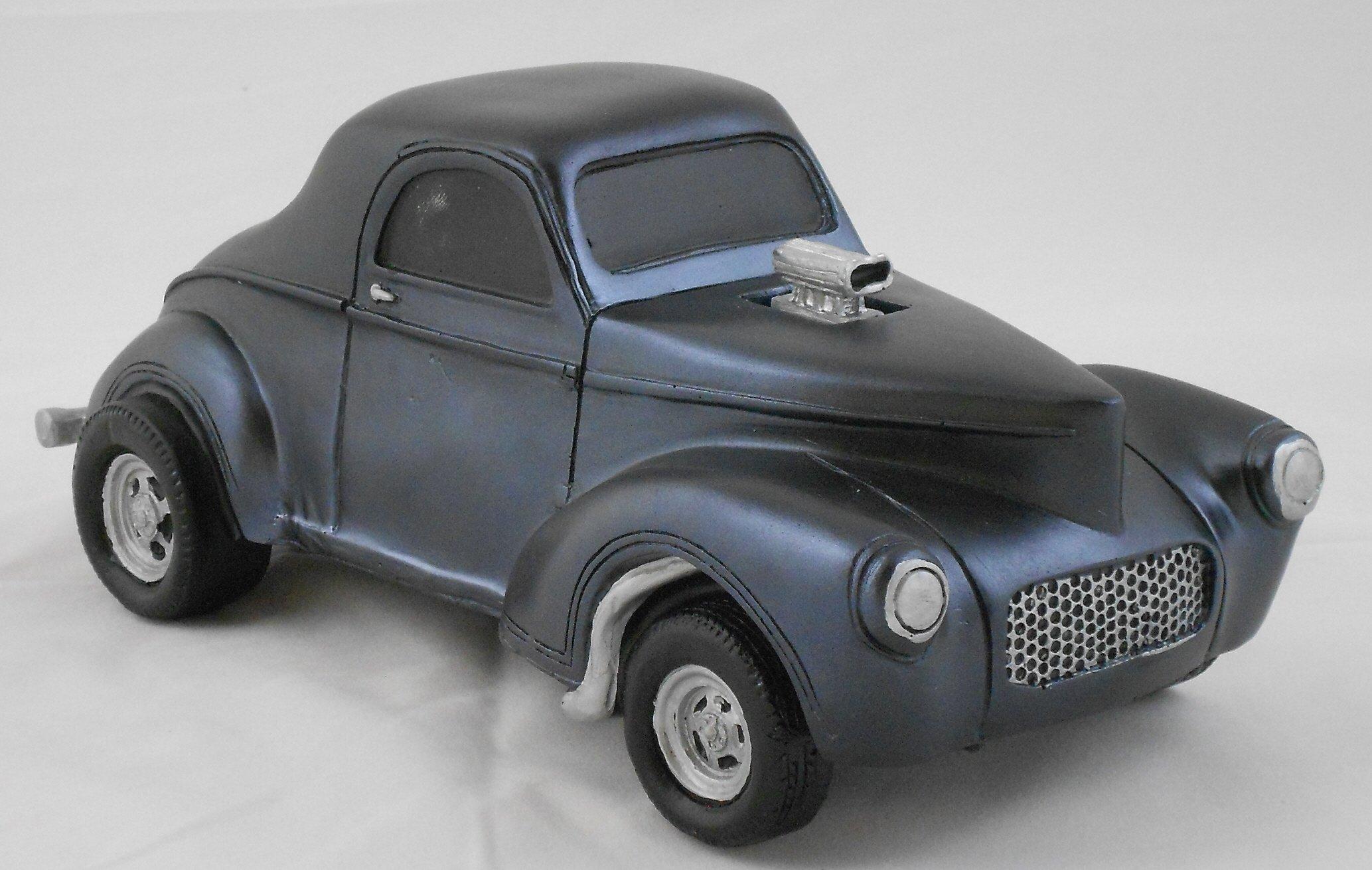 Gasser Model 1941 Willys 1:18 Scale Black by Gasser Models (Image #5)