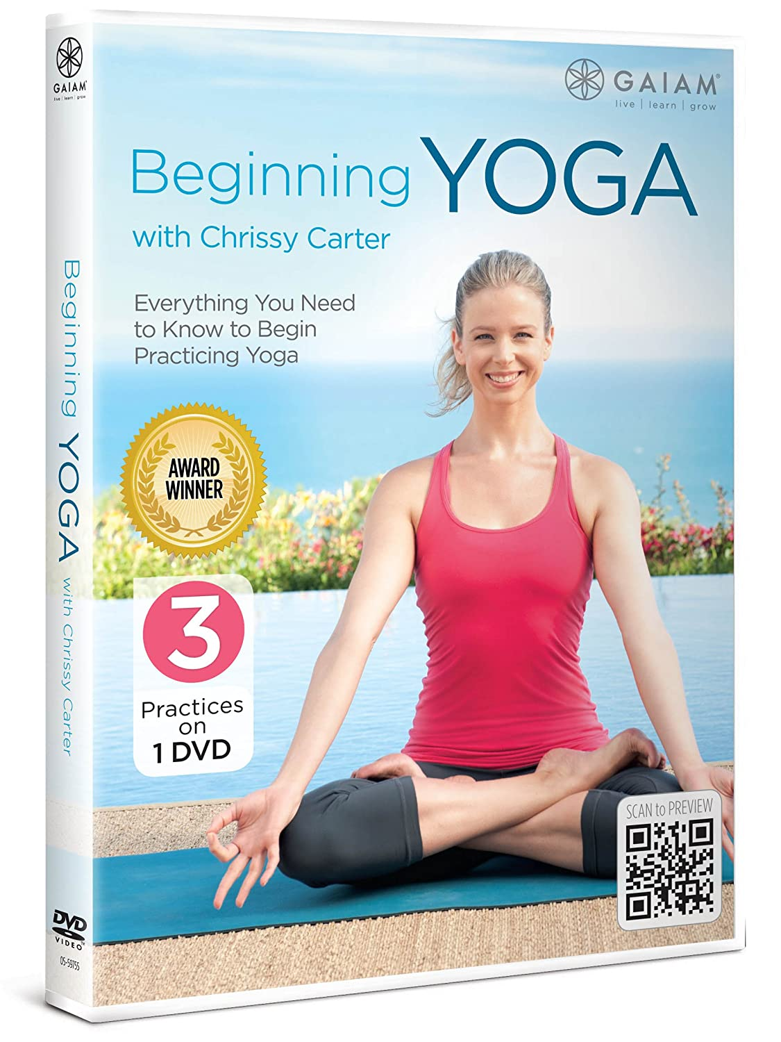 Amazon.com: Beginning Yoga with Chrissy Carter: Chrissy Carter, N/a ...