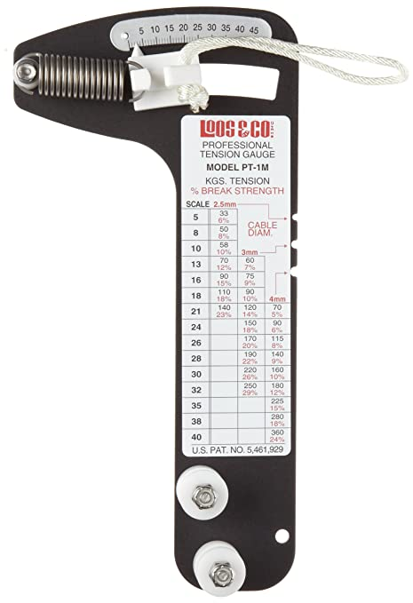 Sailboat Rigging Tension Gauge from Loos & Co., PT-1M Professional ...