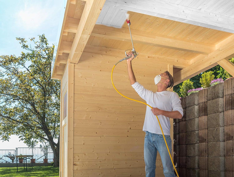 Wagner 517701 Control Pro HEA Rallonge de buse pour Murs Hauts 60 cm plafonds et sols Gris
