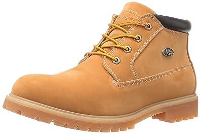 Lugz Men's Huddle Chukka Boot, Golden Wheat/Bark/Cream/Gum, 7