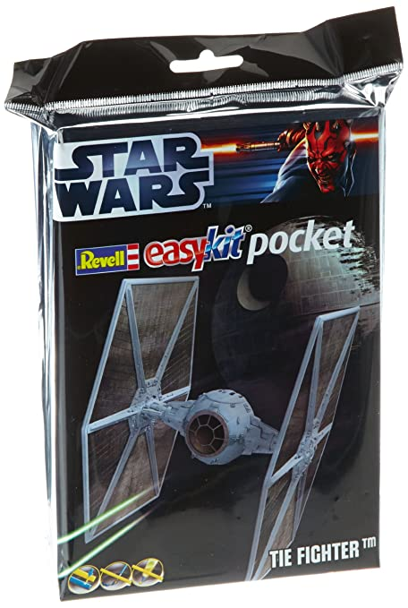 Revell 06734 Easy Kit Mini Star Wars - Maqueta de caza estelar TIE (tamaño bolsillo, escala 1:100)