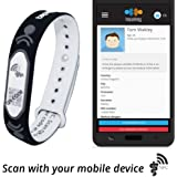 Tap2Tag Adjustable Medical Alert Wristband with NFC and QR code