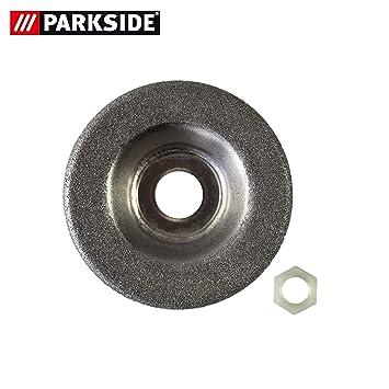 Disque abrasif de rechange avec écrou pour ponceuse Parkside PSS 65 A1 - LIDL IAN 306861