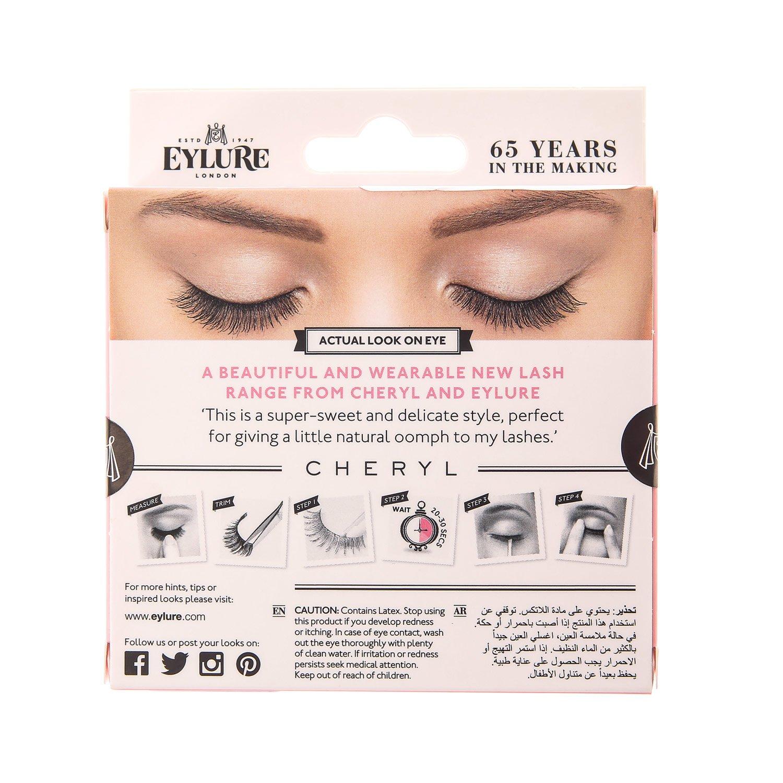 06be1a5028f Eyelure Girls and Womens Eylure Cheryl First Date False Eyelashes in Black:  Amazon.co.uk: Beauty