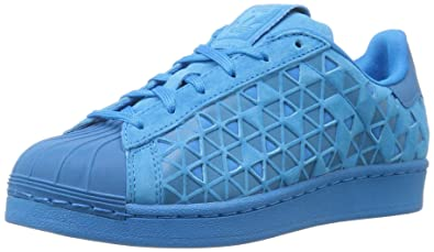 cheaper 21862 75725 adidas Originals Boys' Superstar J Running Shoe, Bluebird, 5 M US Big Kid