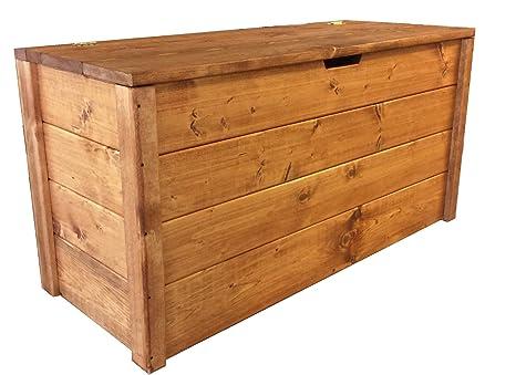 Baule Legno Fai Da Te : Total wood cassapanca baule in legno porta legna cm