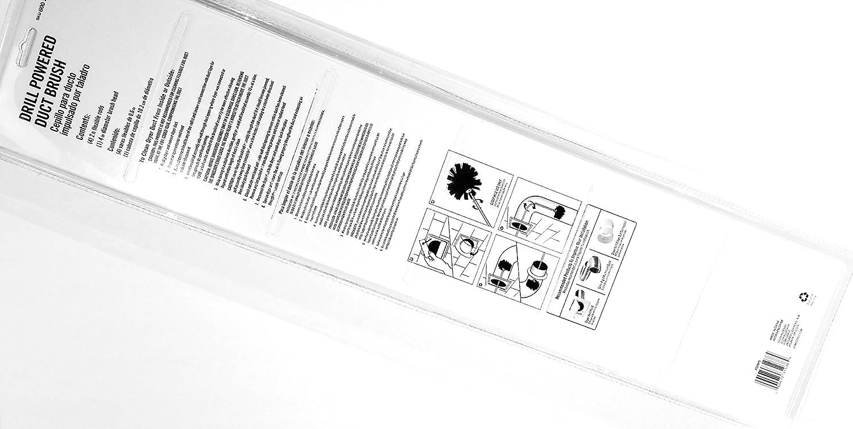 Drill Powered Duct Brush Kit