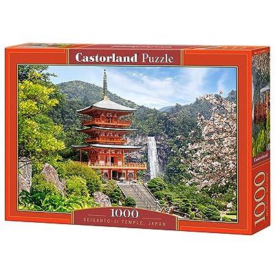 """Castorland """"Seiganto-Ji-Temple, Japan Puzzle (1000 Piece): Toys & Games"""