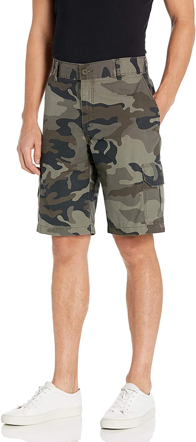 Dickies Mens Relaxed Fit 11 Inch Lightweight Ripstop Cargo Short