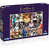 Gibsons Our Queen The Longest Reign Jigsaw Puzzle (1000-Pieces)