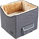 Petsfit Booster Seat/Lookout Car Seat for Small Dogs and Cats,with Pockets and Carrying Case