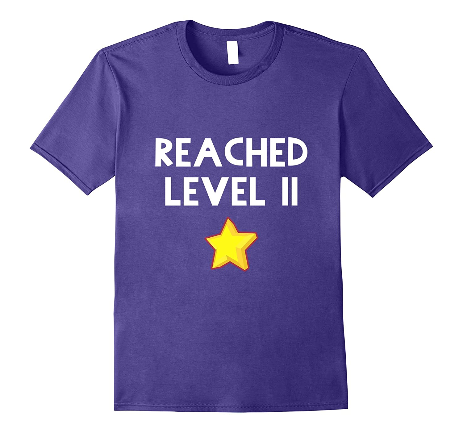 11th Birthday Gift Funny Reached Level 11 T-Shirt-PL