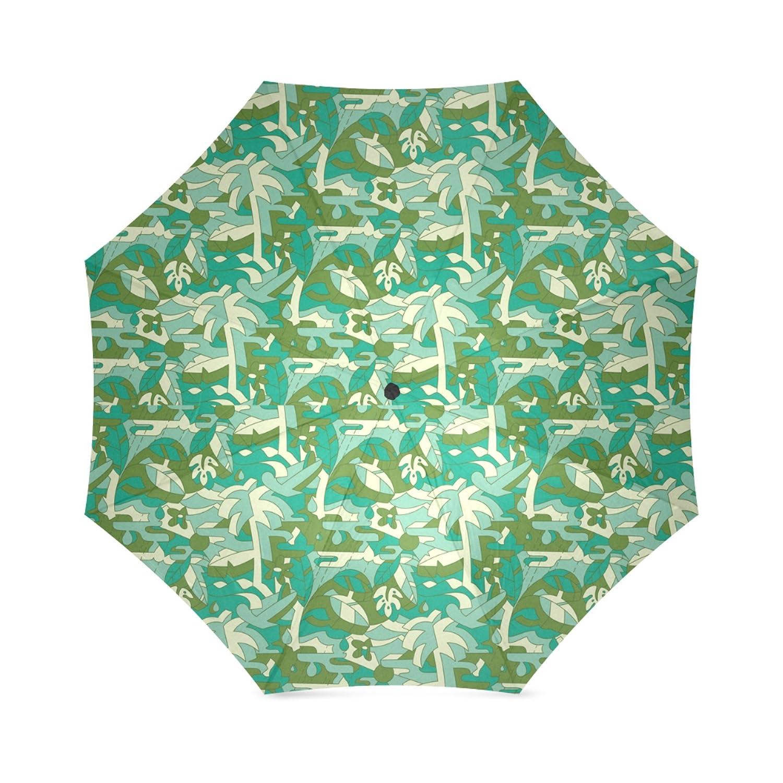 artsbaba傘Palm Tree雨傘防風コンパクトトラベル傘UV保護折りたたみ式   B073VGNSBY