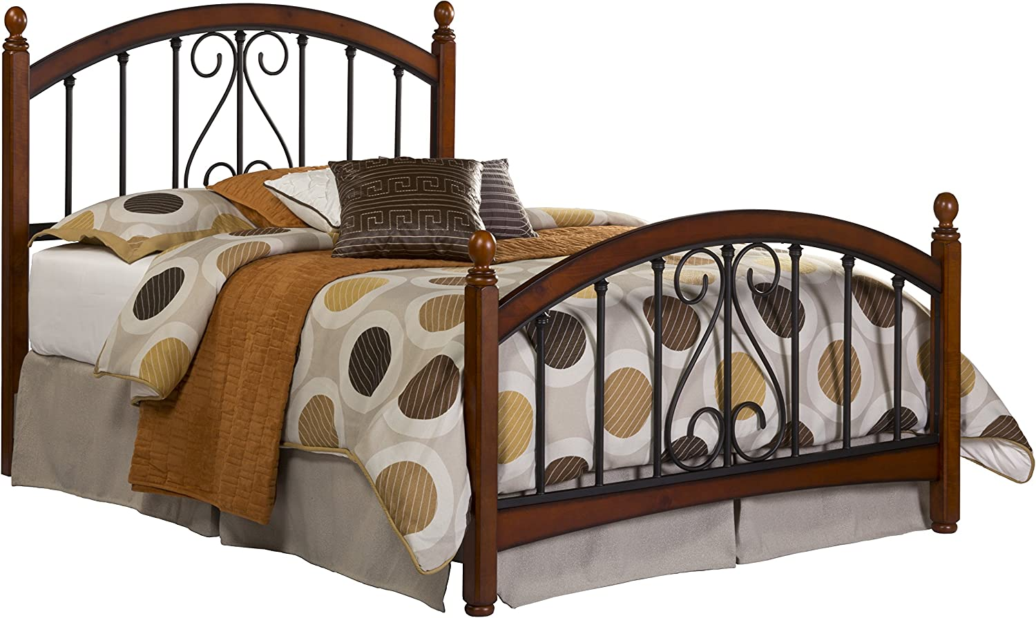 Hillsdale Furniture Hillsdale Burton Way Queen Bed, Cherry