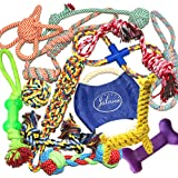 Jalousie Puppy Chew Dog Rope Toy Assortment for Medium Large Breeds