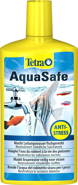 Tetra AquaSafe 500 ml Agua del grifo segura para los peces