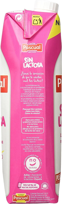 Leche Pascual sin Lactosa Desnatada - 1 l