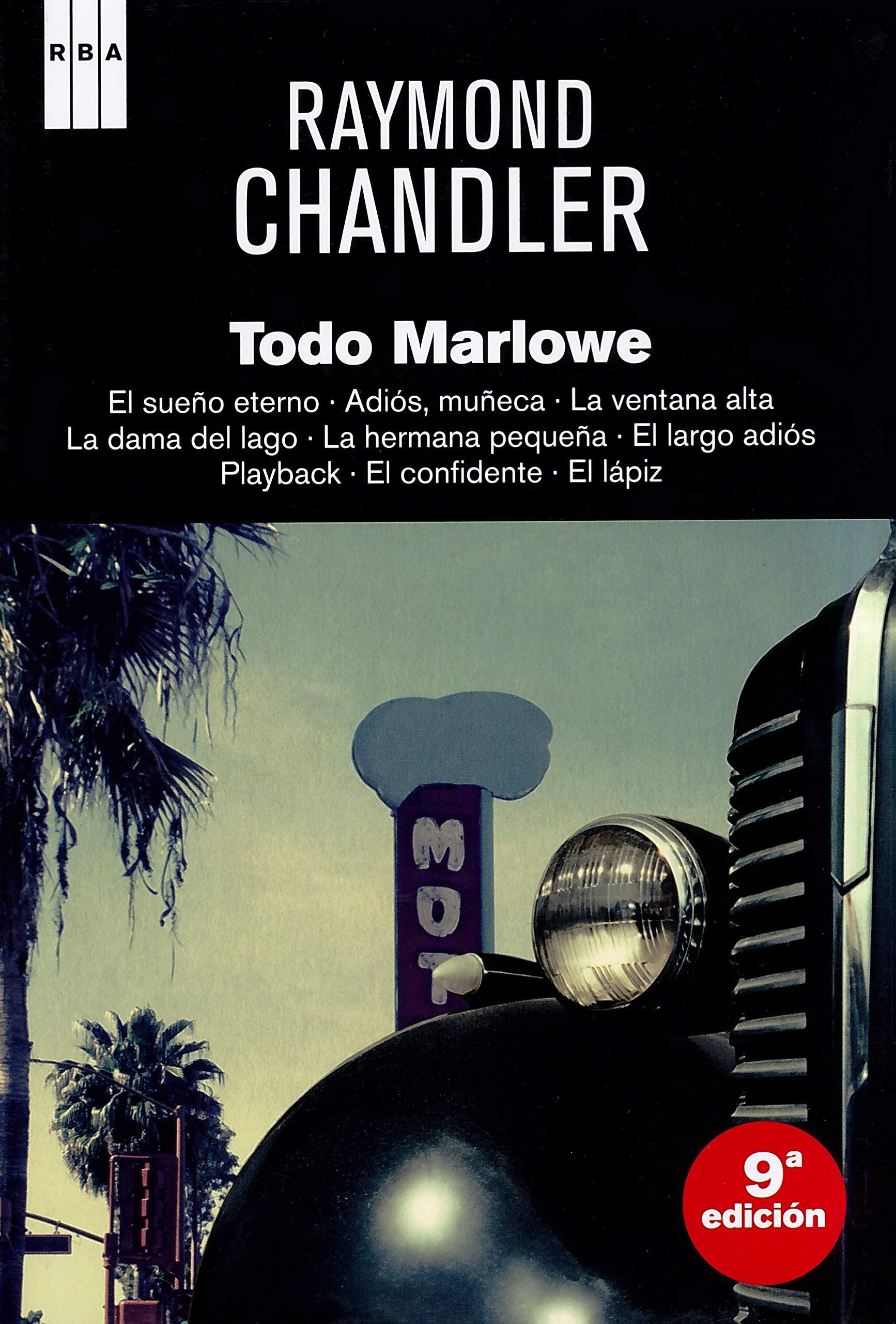Todo marlowe (ÓMNIBUS): Amazon.es: Chandler, Raymond, LOPEZ MUÑOZ ...