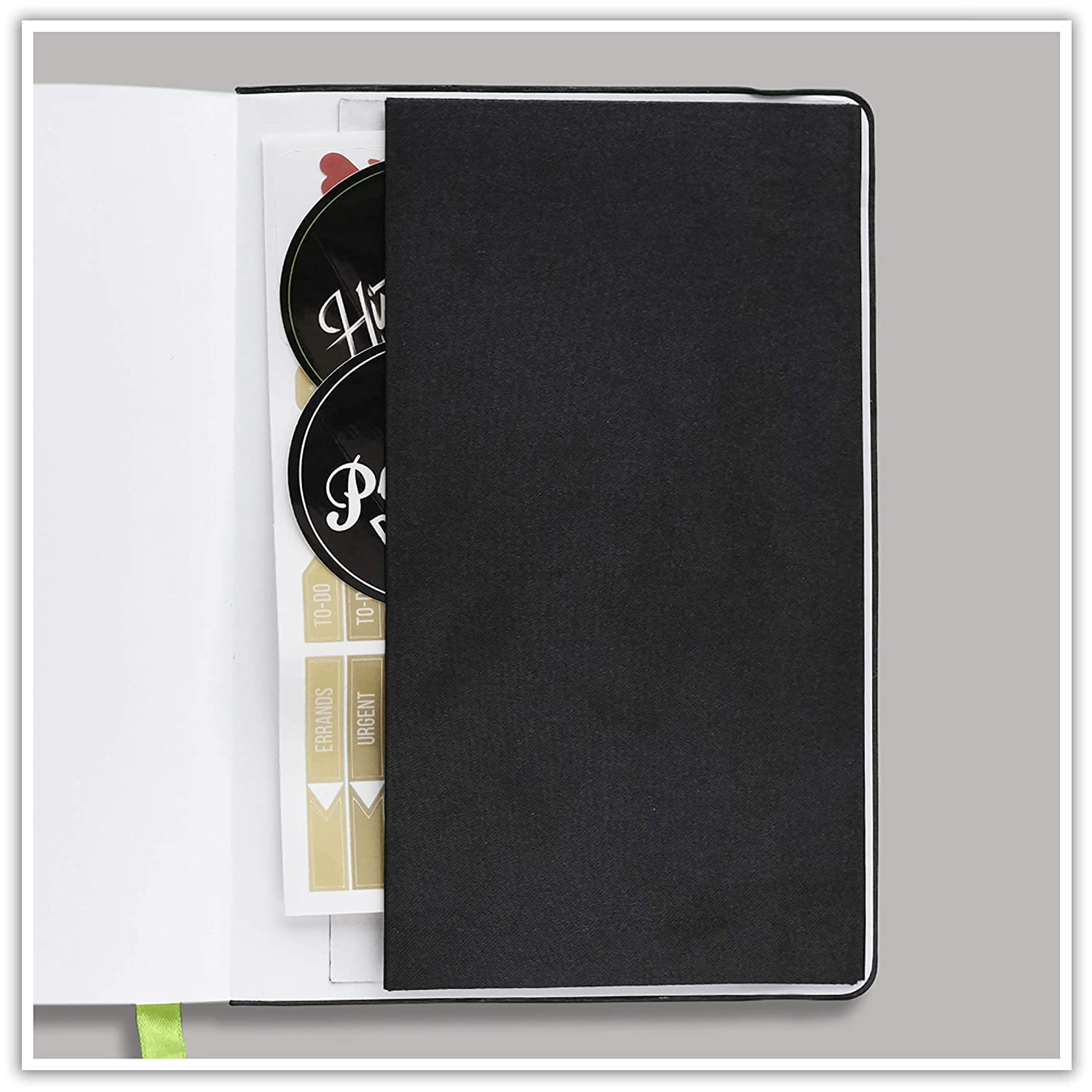 Passion Planner Medium Undated - Goal Oriented Daily Agenda, Appointment Calendar, Reflection Journal - (B5-7