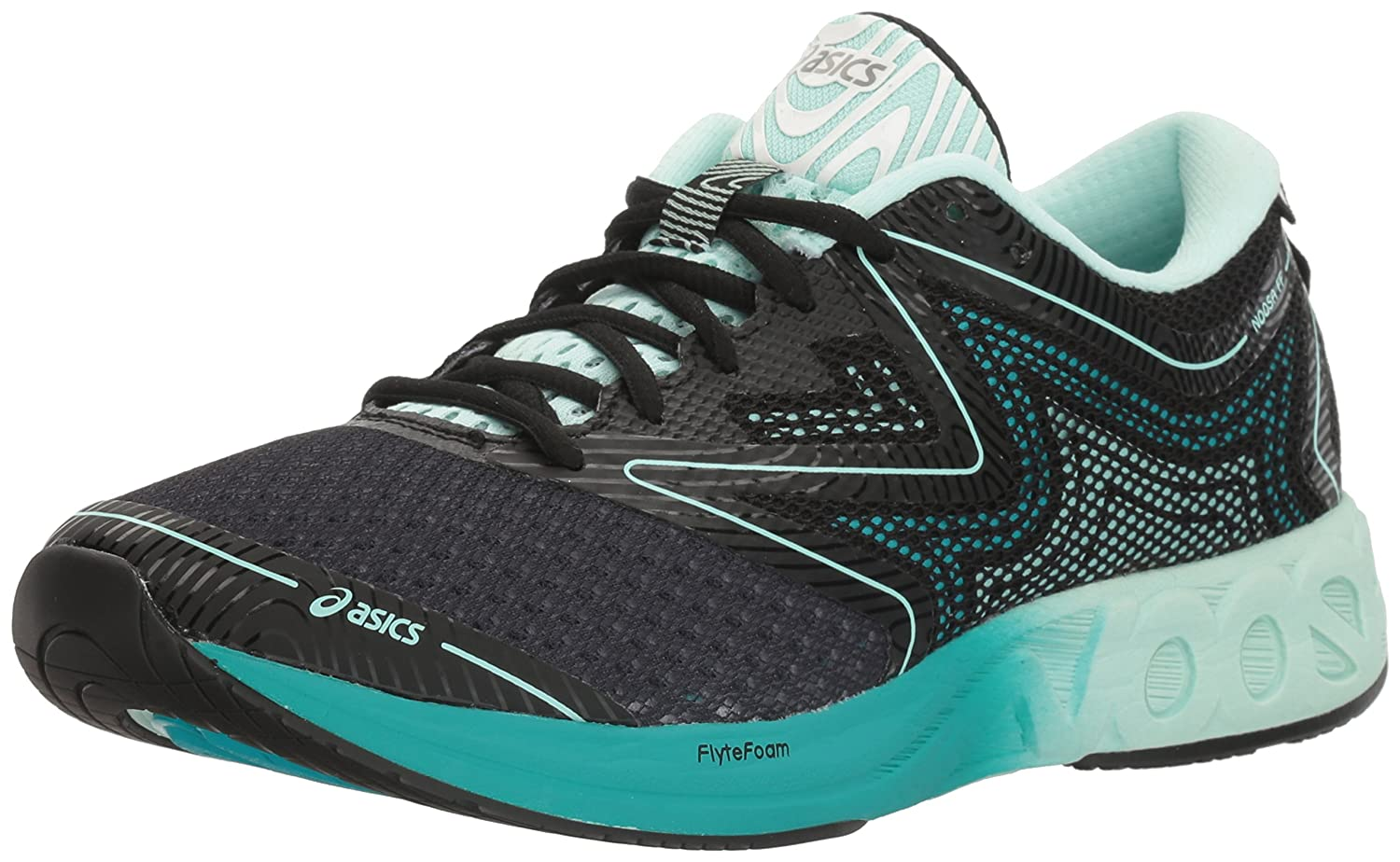 ASICS Women's Noosa FF Running Shoe B01GSRX9Y2 11.5 B(M) US|Black/Bay/Viridian Green