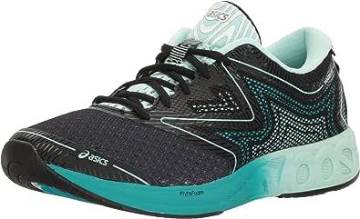 Asics Noosa FF Zapatillas de Running, Reino Unido 6,5 Mujer Negro/Bay/Viridian Verde 6.5 Reino Unido: Amazon.es: Zapatos y complementos